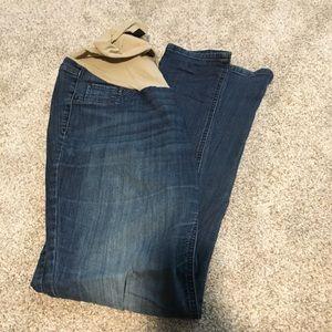 Maternity jeans- straight leg/skinny